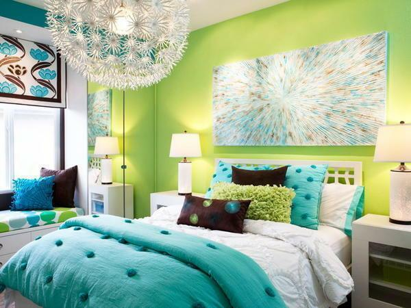 Choose a color scheme for a bedroom considering your preferences