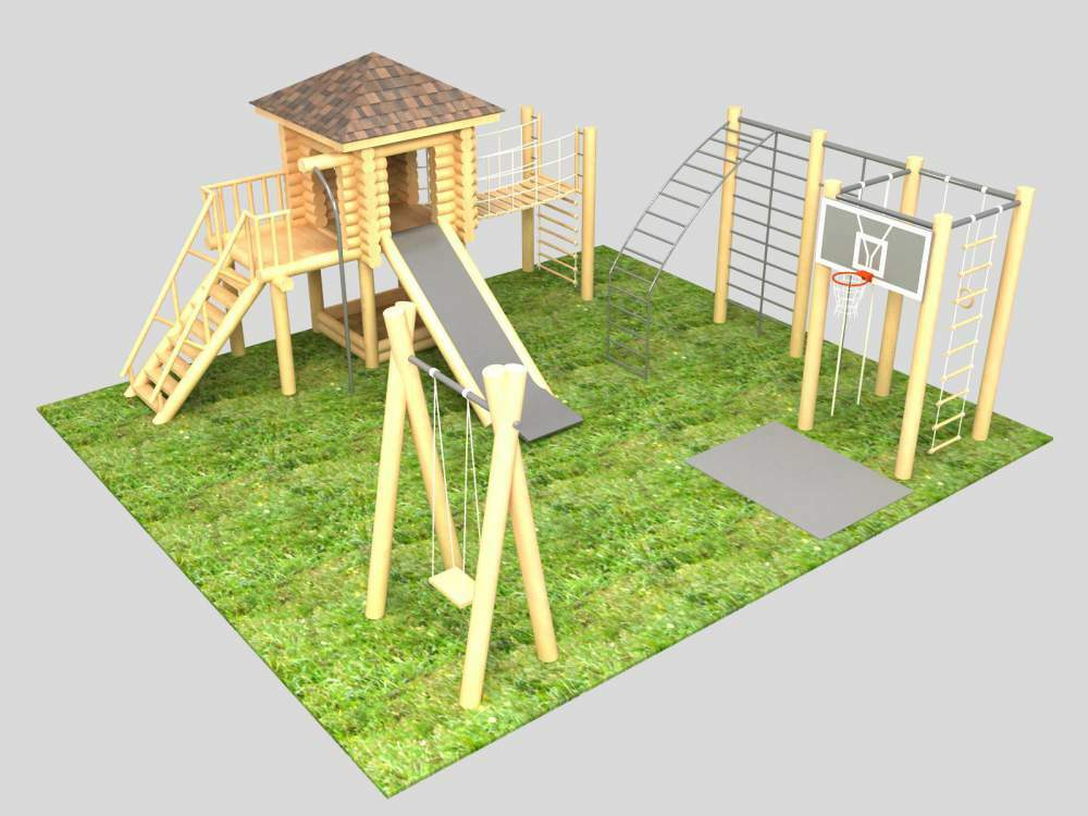 Landscaping playground: how to create a project and to design the interior