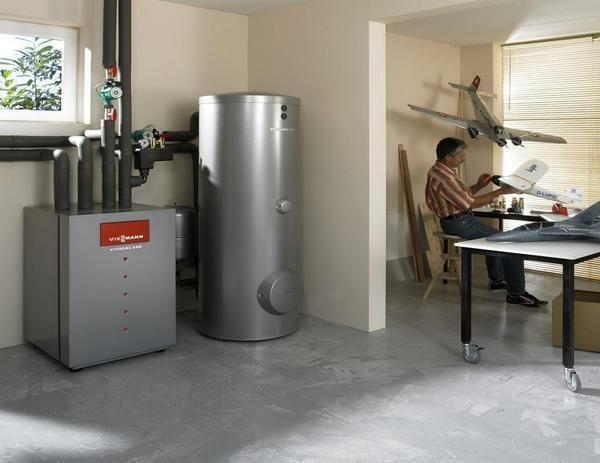 Boiler equipment is sold in a specialized store