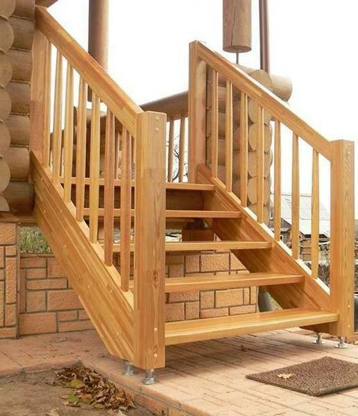 A wooden staircase, made with quality hands, will last for many years