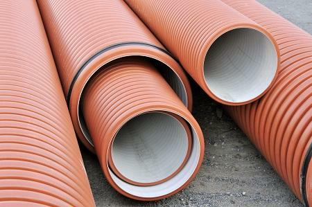 Drainage pipes may differ in quality, thickness and diameter