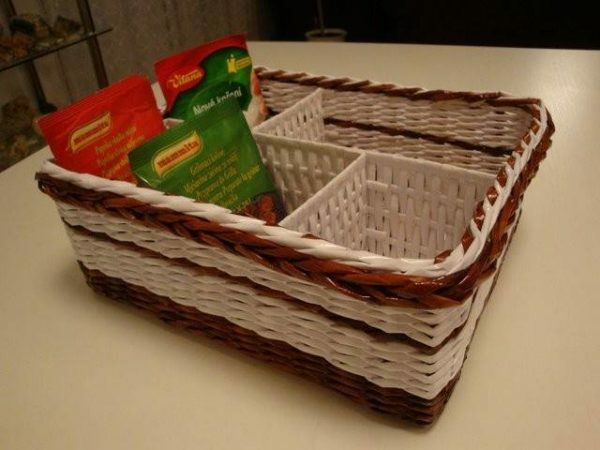 Paper baskets are not only beautiful, but also practical