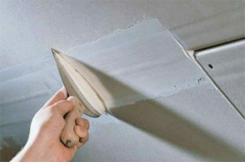 Universal filler can be used to seal joints sheets of drywall
