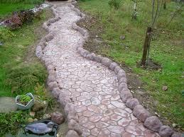 path of paving stones
