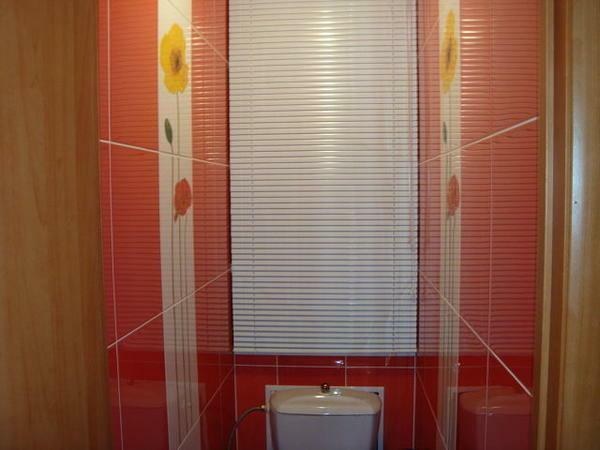 Blinds for the bathroom can be made of different materials