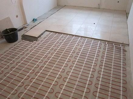 Electric floor heating has a long service life and good functionality
