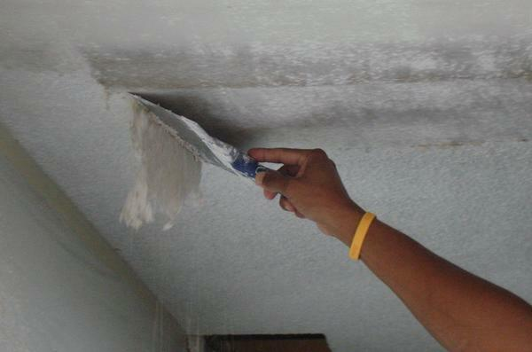 Before fixing the frame under the plasterboard to the wall or ceiling, it is necessary to carry out preliminary finishing works