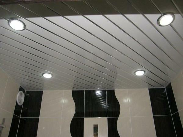 Lamps for lath ceilings: LED and built-in, lighting Lumessvet, point and luminescent, raster technology