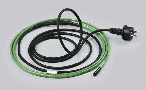 The advantage of a self-regulating heating cable is that it does not consume additional resources