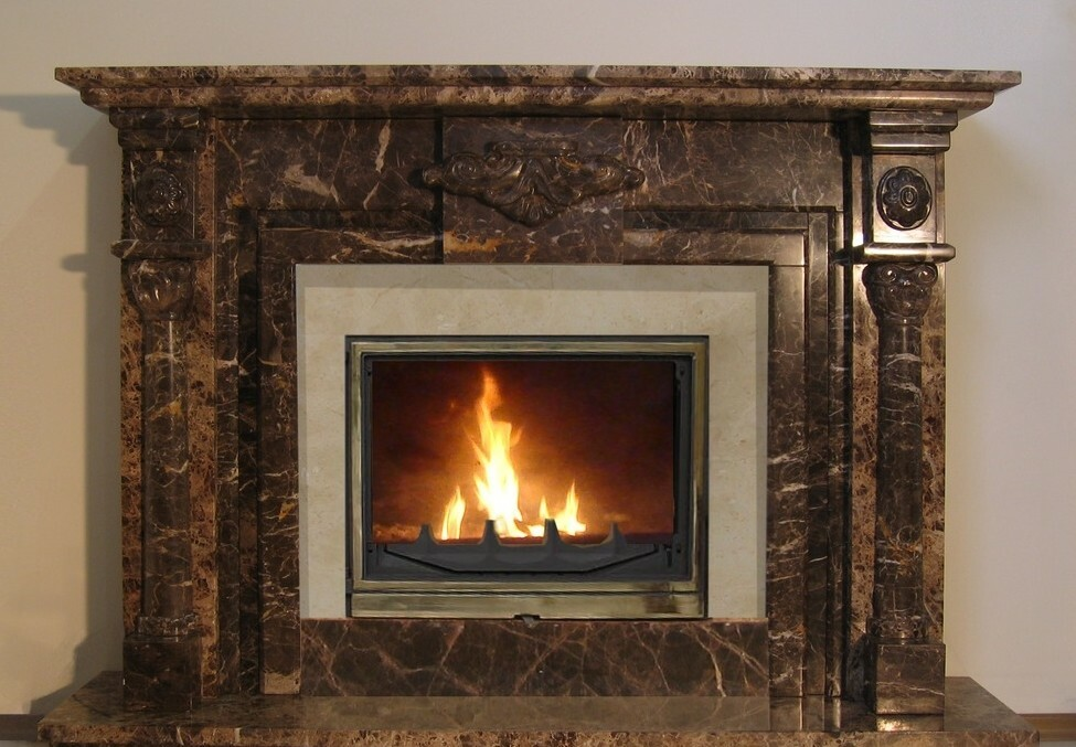 Using an epoxy adhesive may be safely perform finishing fireplaces