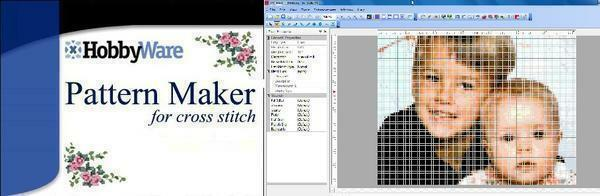 The program Pattern Maker in a few seconds will turn any photo into a complete scheme for cross-stitching