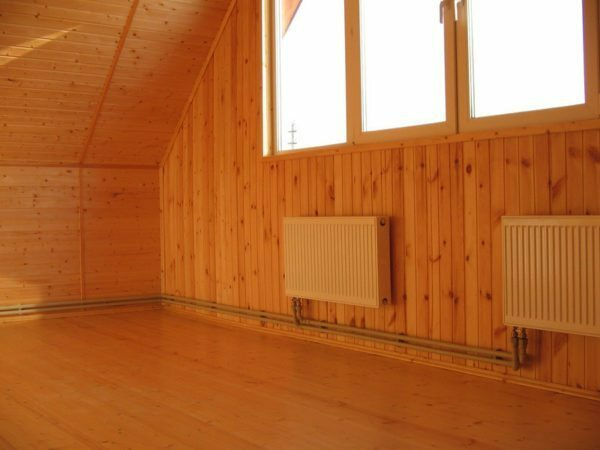 Thanks to the excellent thermal insulation of heating of the house will not break the bank.