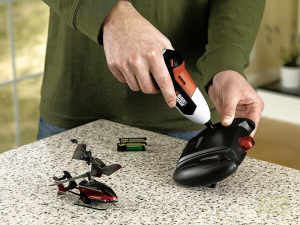Even the replacement of the batteries on the remote from the toy helicopter can be accelerated and simplified by using such a useful instrument in the economy