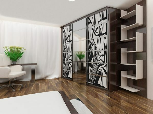 Built-in wardrobes in the interior: design, user choice, videos and photos