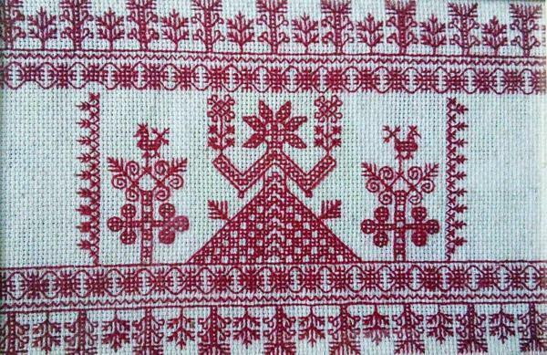 Makosh scheme of cross stitching: free download, amulet for love, what ornament to choose