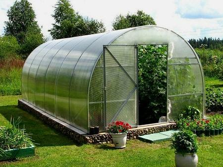 Greenhouses made of polycarbonate can be made independently or buy ready-made