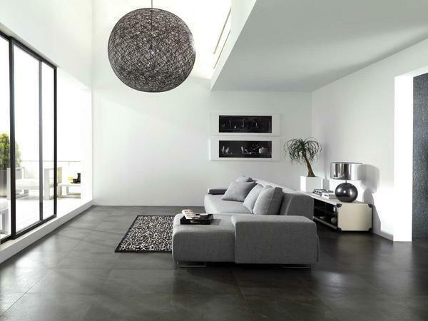 The minimalist style living room, as a rule, is decorated in neutral colors