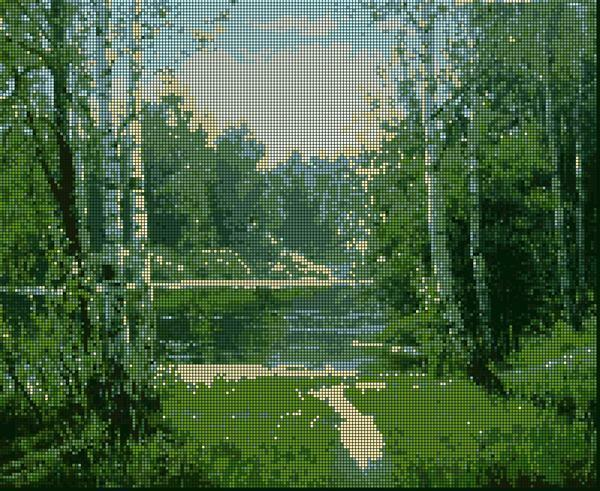 Learn how to embroider beautiful landscapes simply, the main thing is to get special sets for embroidery, to be patient and in a good mood