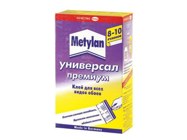 Glue Methylan is intended for paper types of wallpaper