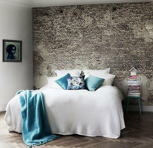Wall-paper for brick for many years remain the most popular, stylish and popular in the market