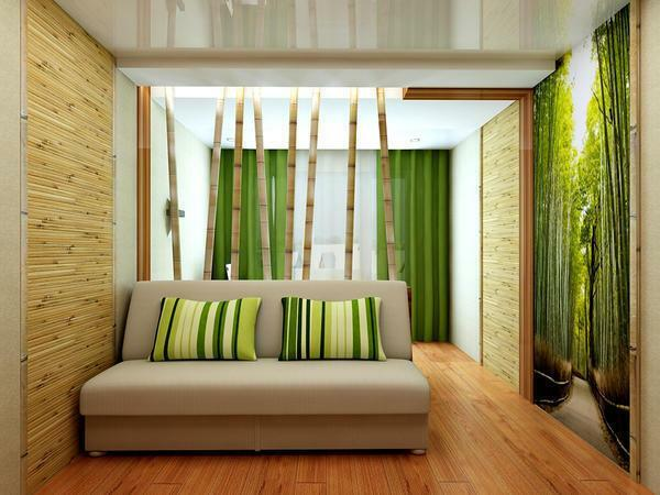 Bamboo wallpaper - a real find for those who appreciate originality, durability and environmental friendliness