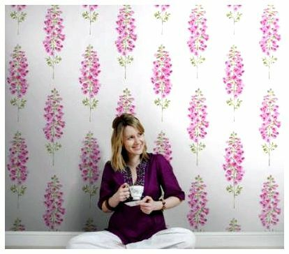 whether it is possible to hang wallpaper on whitewash
