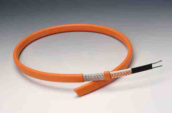 For high-quality electrical heating, the heating cable