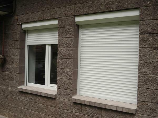 The shutters may differ in the type of control