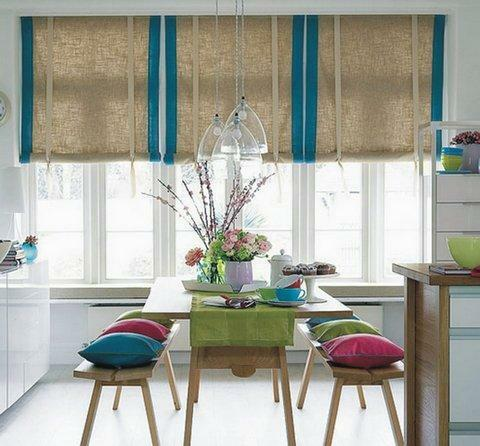 Beautifully decorate the window opening with budget short curtains