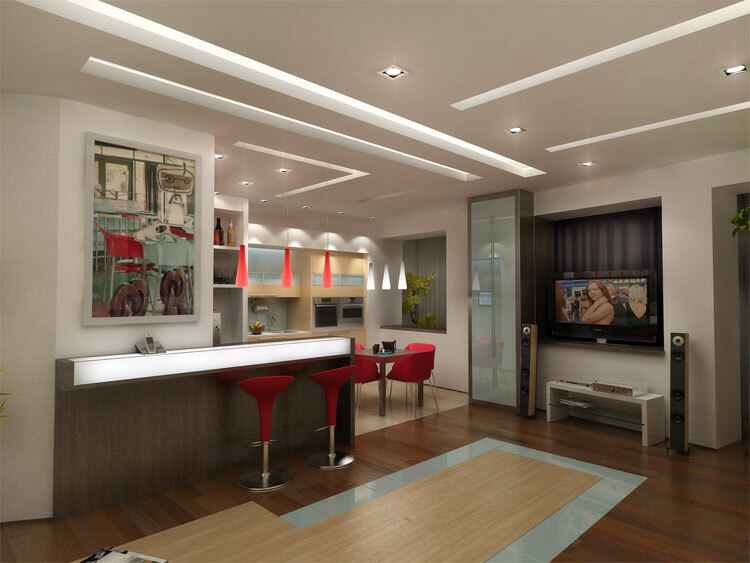 kitchen interior 8 sq.m