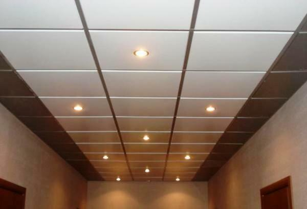 Raster false ceiling - this is the classic Armstrong