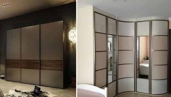 Before you buy a wardrobe, you should determine in advance its location in the room