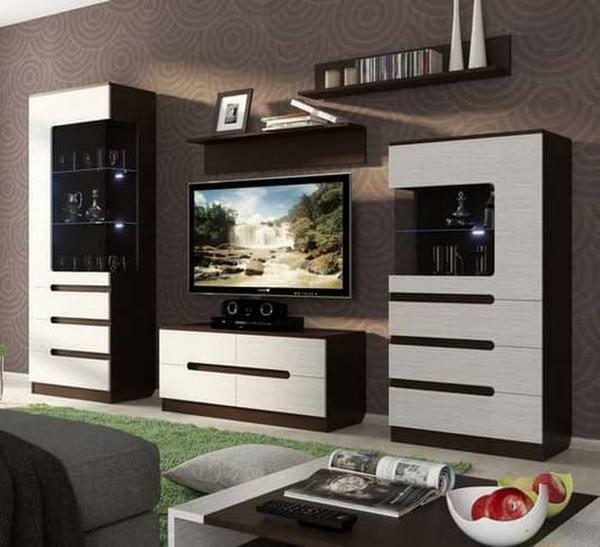 Modular living room is an excellent variant of furniture to furnish a small room
