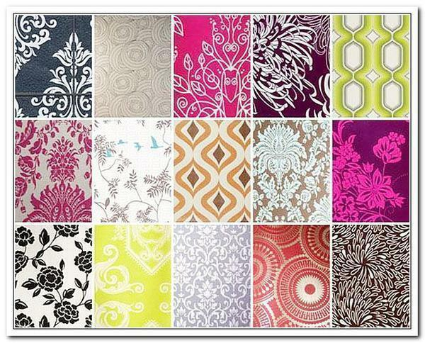 Modern wallpapers are presented in a variety of styles