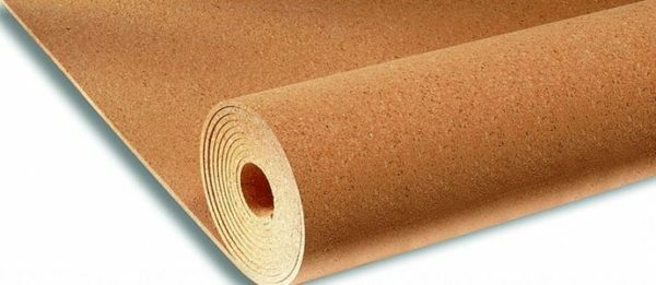 Cork - an eco-friendly material, well suited as a basis for linoleum