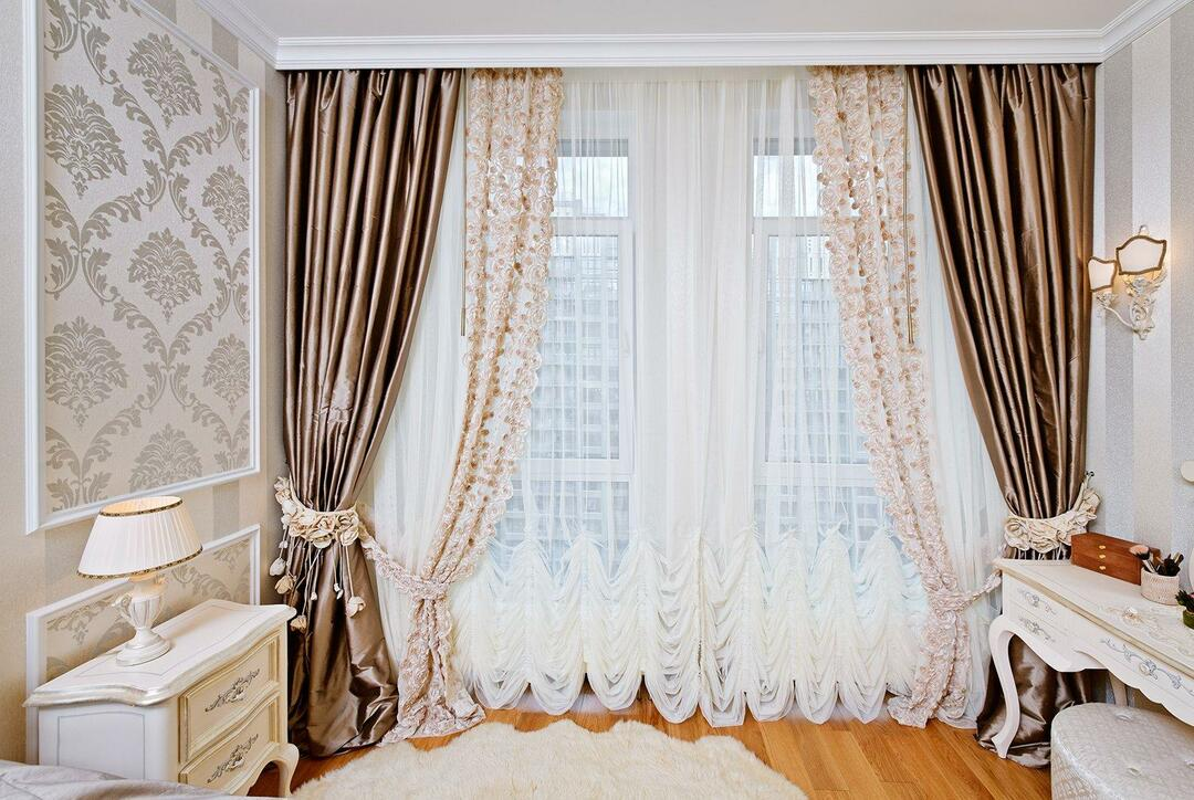 Window decoration with curtains photo: interior options for the room, how to make a narrow window without curtains, beautiful curtains