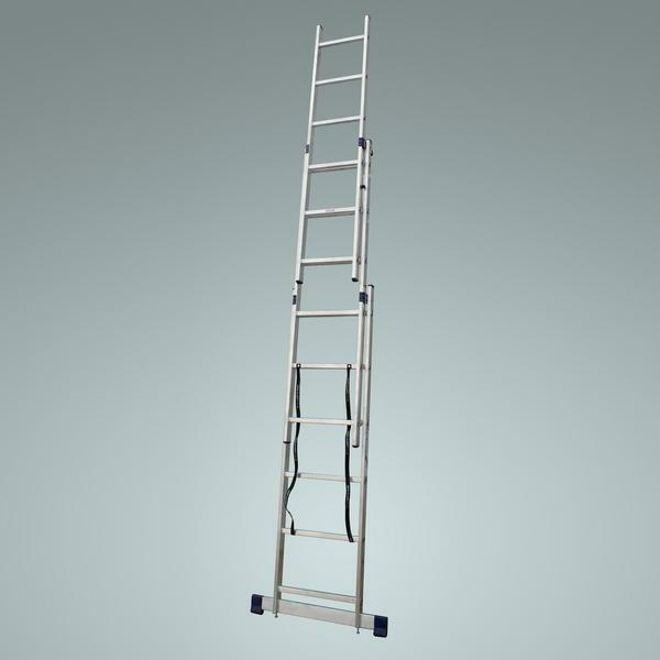 Folding ladder: folding transformer 7 meters, photo, 5 and 8 meters, types of construction universal stools