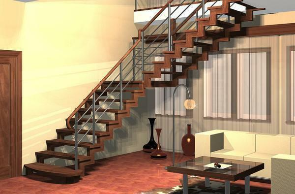 Design of the staircase: decor and decoration of the hallway, photo and the second floor in the house, for the walls of the idea, the colors inside the living room