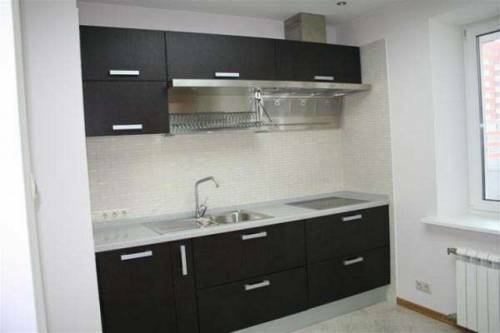 Design black and white kitchen