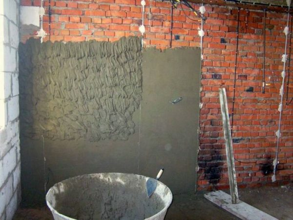 Cement-lime plaster for walls: composition, specifications, videos and photos