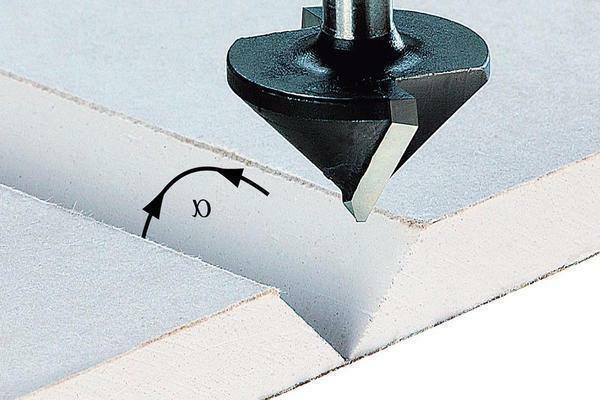 In order to quickly make a hole in the plasterboard, you can use a special router