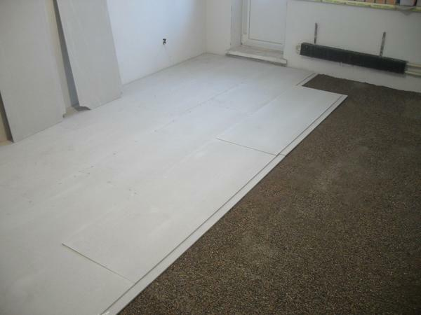 The advantage of laying drywall on the floor is that it can be done in a short period of time