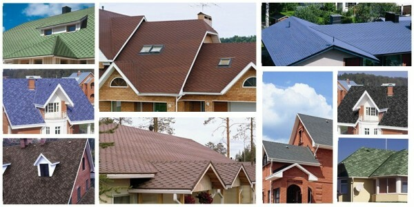 A variety of colors and textures of the soft roof allows you to choose the best option to any building