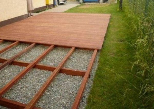 Lawn grid for the tracks in the country: plastic and other products, video and photos