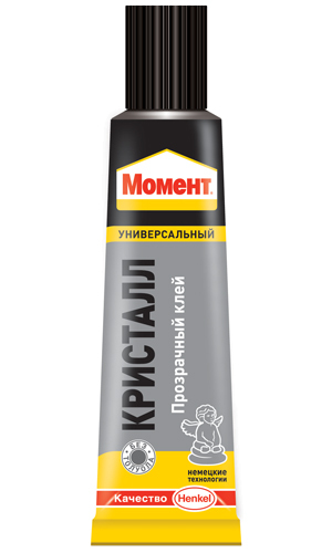"A tube of adhesive solution ""Moment of Crystal"""