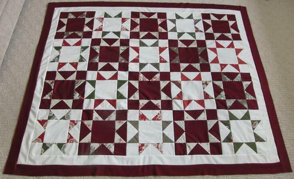 The technique of the star is often used to make quilts and covers