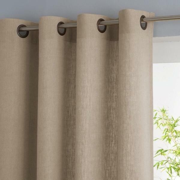 Linen curtains: photos in the interior, tulle from linen and burlap, pictures on the kitchen, linen in the decor, wallpaper and curtains