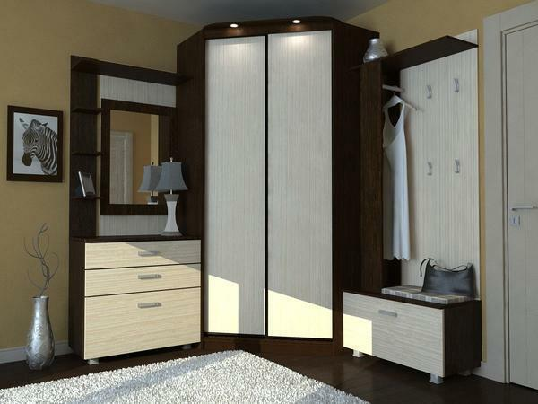 An excellent solution is to purchase a wardrobe equipped with built-in lights