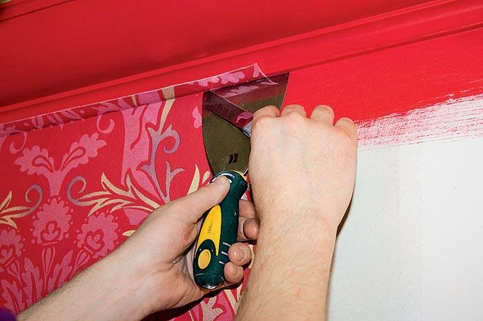 How to properly glue wallpaper: pasting of walls after, video, pasted meter, photo, what you need one, rules