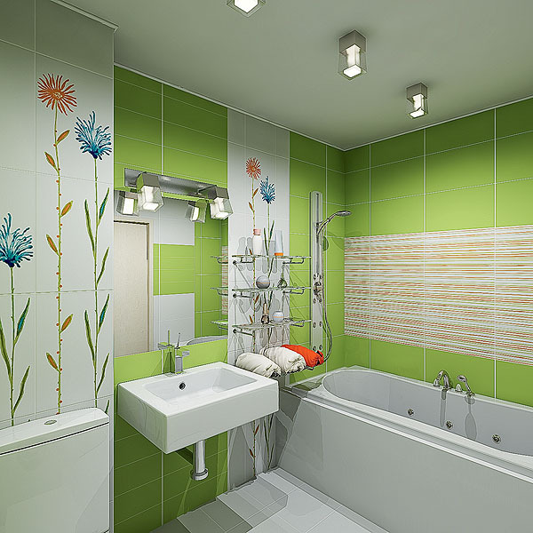 Bathroom Design in hruschevke